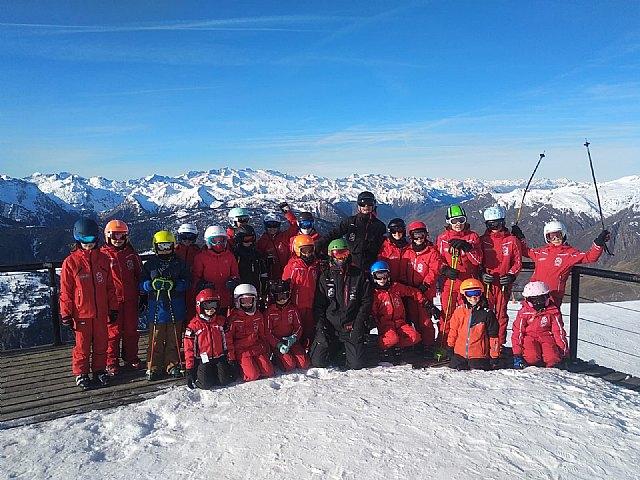 El Club de Escuela de Ski Baqueira impulsa el deporte en las nuevas generaciones desde el Pirineo catalán - 1, Foto 1