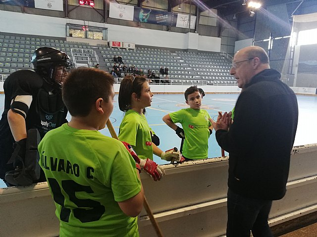Los benjamines del Club Hockey Patines Totana se desplazaron a Alcoy, Foto 3