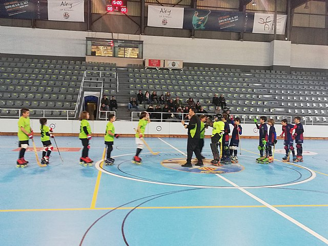 Los benjamines del Club Hockey Patines Totana se desplazaron a Alcoy, Foto 4