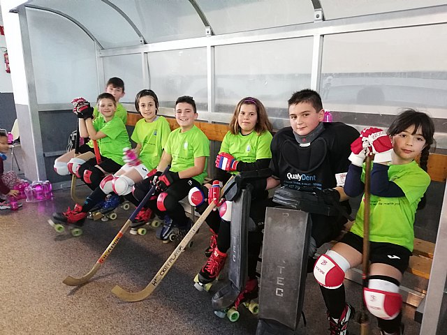 Los benjamines del Club Hockey Patines Totana se desplazaron a Alcoy, Foto 5