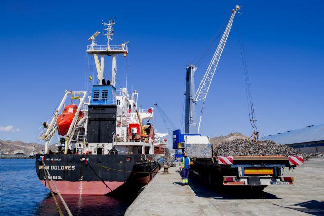El Puerto de Cartagena se sitúa como un referente en la exportación de chatarra - 1, Foto 1