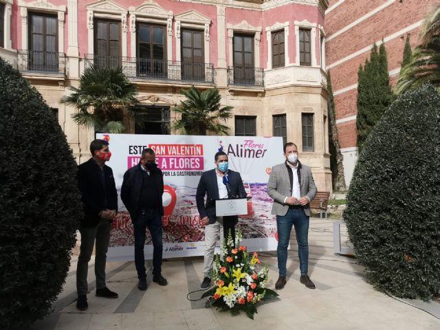 El Ayuntamiento de Puerto Lumbreras colabora con la campaña Mapa del Amor, que une los sectores de hostelería y floricultura con motivo de San Valentín - 1, Foto 1