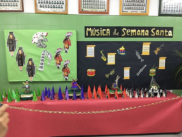 """The CEIP """"La Cruz"""" hosting an exhibition on Easter"""