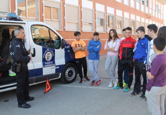 Alumnos del IES Rambla de Nogalte se forman en seguridad vial para prevenir accidentes - 2, Foto 2