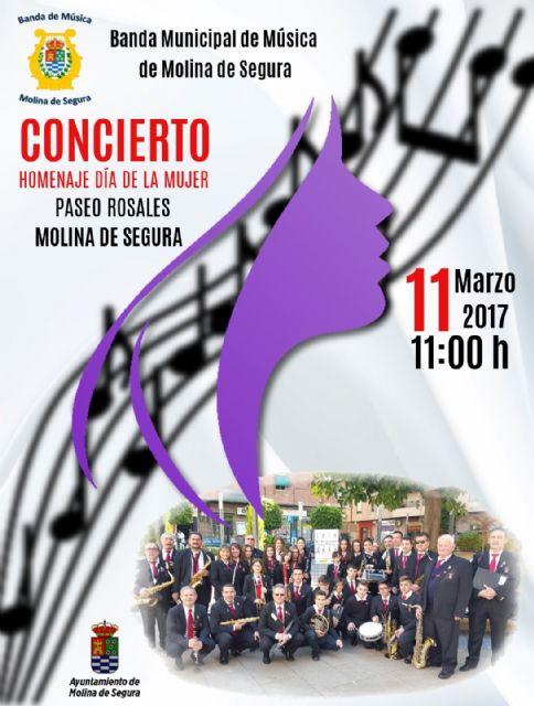 La Concejalía de Igualdad de Molina de Segura organiza un concierto homenaje con motivo del Día Internacional de la Mujer el sábado 11 de marzo - 1, Foto 1