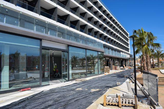 El nuevo hotel Dos Playas de Mazarrón tendrá capacidad para alojar a más de 500 personas - 1, Foto 1