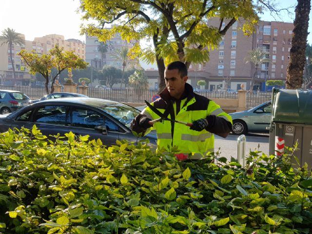 Más de una decena de jóvenes con discapacidad intelectual se integran en los equipos de trabajo de los parques de Murcia y pedanías - 2, Foto 2