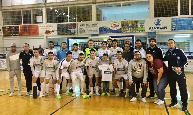 Zambú CFS Pinata mereció más ante Ciudad de Móstoles (0-3) - 1, Foto 1