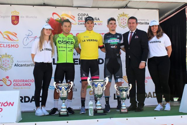 El sub23 barcelonés Kiko Galván del equipo navarro del Lizarte consigue vencer en Alcantarilla en el Trofeo Guerrita - 2, Foto 2