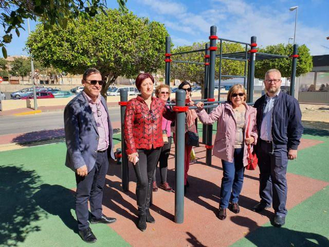 El Ayuntamiento de Molina de Segura finaliza las actuaciones de dotación de áreas juveniles en varios puntos del casco urbano, con una inversión próxima a los 60.000 euros - 1, Foto 1