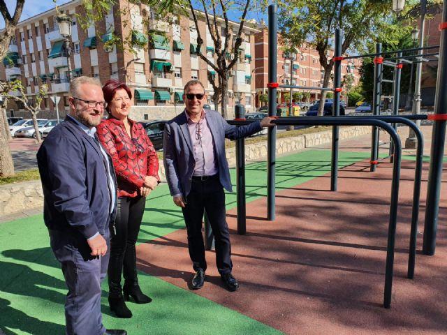 El Ayuntamiento de Molina de Segura finaliza las actuaciones de dotación de áreas juveniles en varios puntos del casco urbano, con una inversión próxima a los 60.000 euros - 2, Foto 2