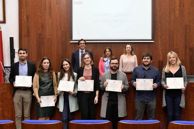 La Universidad de Murcia entrega los premios de la Cátedra del Agua a los mejores trabajos fin de máster - 1, Foto 1
