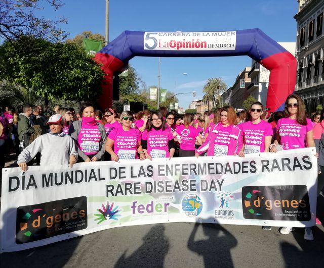 Una representación de D´Genes participó en la V Carrera de la Mujer de Murcia - 2, Foto 2