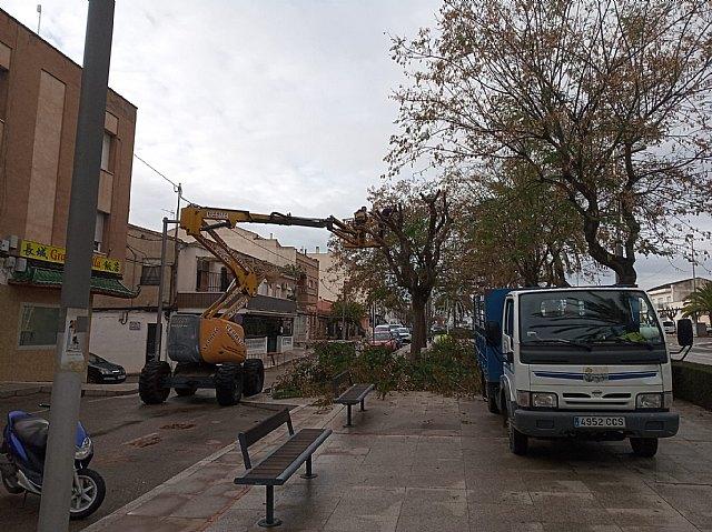Brigada municipal: trabajos del martes 9 de marzo
