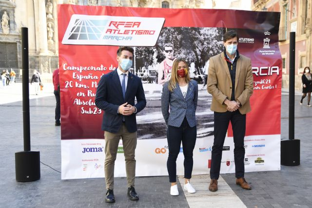 Presentado el LXXII Campeonato de España de 20km. Marcha en Ruta Absoluto-Sub23 Murcia 2021 - 1, Foto 1