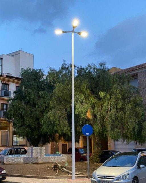 El ayuntamiento mejora el alumbrado en la plaza del romeral y las calles caño y juan alfonso oliva, Foto 3