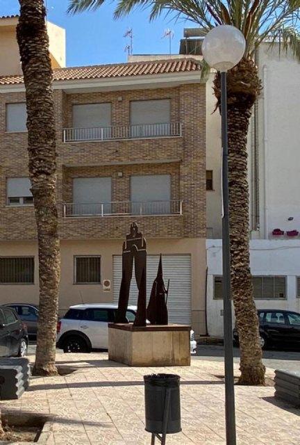 El ayuntamiento mejora el alumbrado en la plaza del romeral y las calles caño y juan alfonso oliva, Foto 4