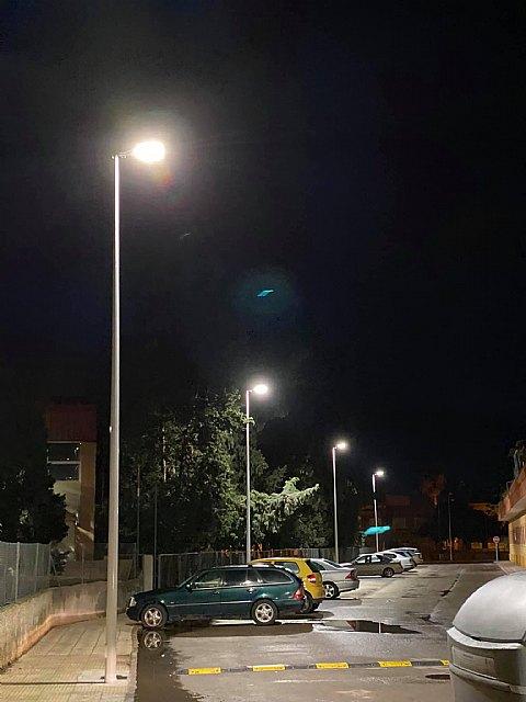 El ayuntamiento mejora el alumbrado en la plaza del romeral y las calles caño y juan alfonso oliva - 5, Foto 5