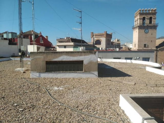 Fix the roof of the Municipal Center of Balsa Vieja Square, Foto 1
