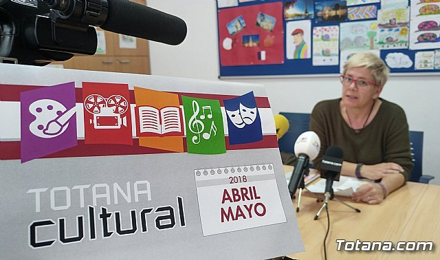 "The program ""Totana Cultural"" has more than twenty activities in April and May"