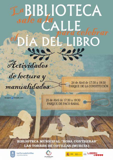 La biblioteca municipal Rosa Contreras saldrá a la calle para celebrar el día del libro - 1, Foto 1