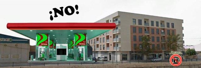 Comunicado de la Plataforma de vecinos afectados por el proyecto de instalaci�n de una gasolinera en Avd. Juan Carlos I de Totana., Foto 1