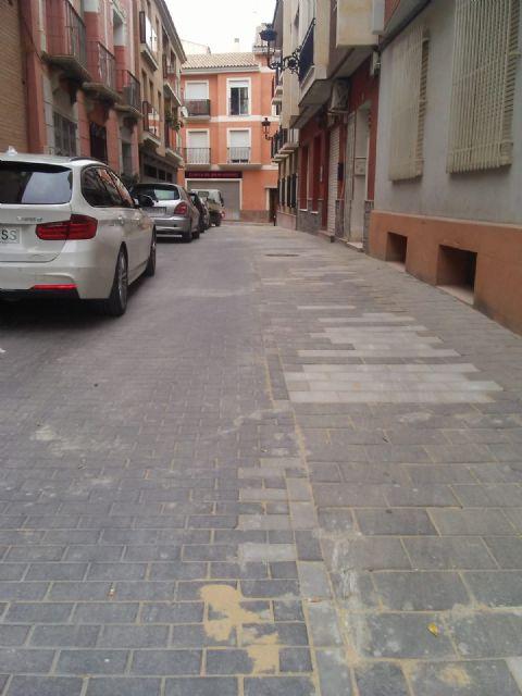 Reparan en las últimas semanas más de 800 metros cuadrados de adoquín en numerosas calles del centro urbano - 2, Foto 2