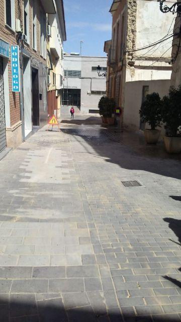 Reparan en las últimas semanas más de 800 metros cuadrados de adoquín en numerosas calles del centro urbano - 3, Foto 3