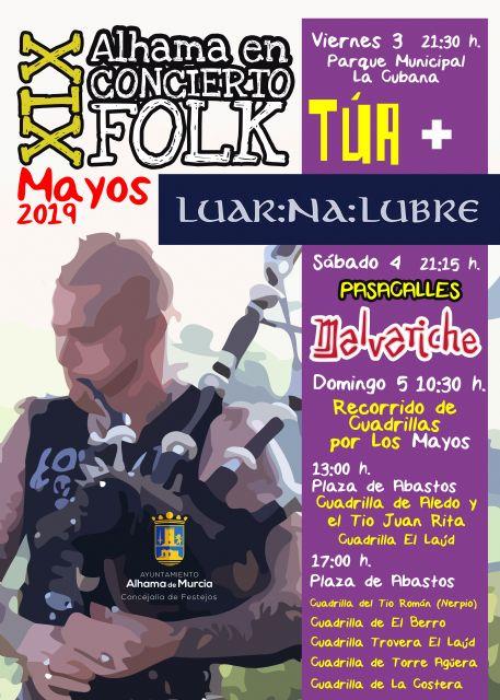 XIX Alhama en Concierto Folk - Fiesta de Los Mayos 2019, Foto 2
