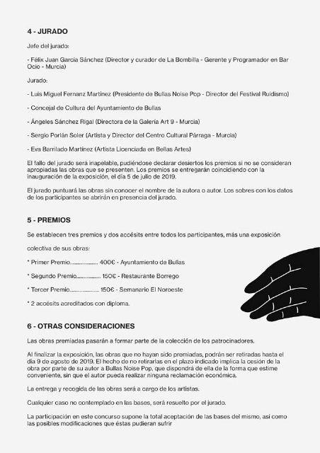 El Ayuntamiento de Bullas y el Festival Ruidismo crean el concurso de arte 'Artismo' - 3, Foto 3