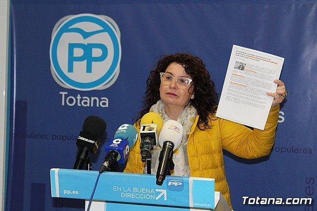 Sánchez Ruiz: El gobierno actual formado por IU-Ganar Totana y PSOE no ha sido capaz de culminar ni un 20% de sus programas electorales - 1, Foto 1