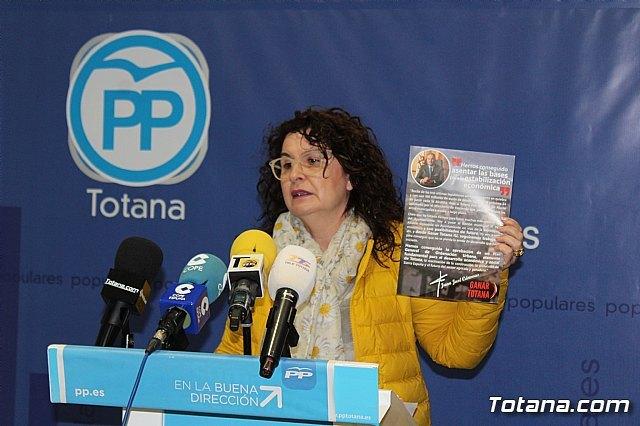 Sánchez Ruiz: El gobierno actual formado por IU-Ganar Totana y PSOE no ha sido capaz de culminar ni un 20% de sus programas electorales - 4, Foto 4