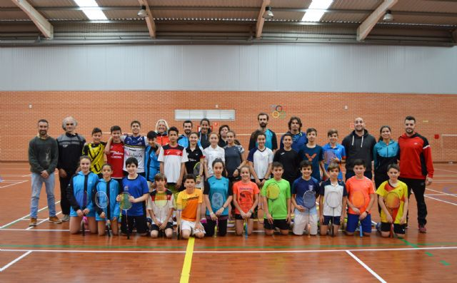 Los mejores jugadores jóvenes de bádminton del Levante, de convivencia en Las Torres de Cotillas - 4, Foto 4