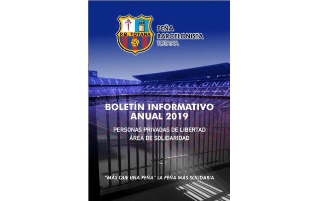 La Peña Barcelonista de Totana desarrolla 15 iniciativas solidarias en el Centro Penitenciario Murcia I en el año 2019 - 1, Foto 1