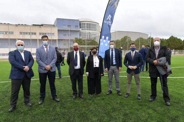 La Universidad de Murcia inaugura el campo de fútbol del Campus de Ciencias del Deporte de San Javier - 1, Foto 1