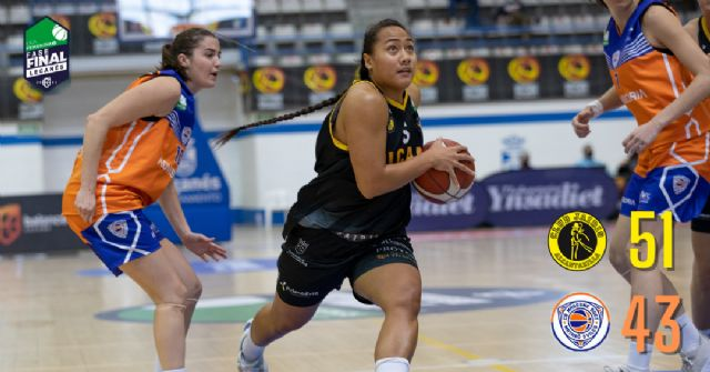 UCAM Primafrio Jairis debuta con victoria en la fase de ascenso a la Liga Femenina Endesa - 1, Foto 1