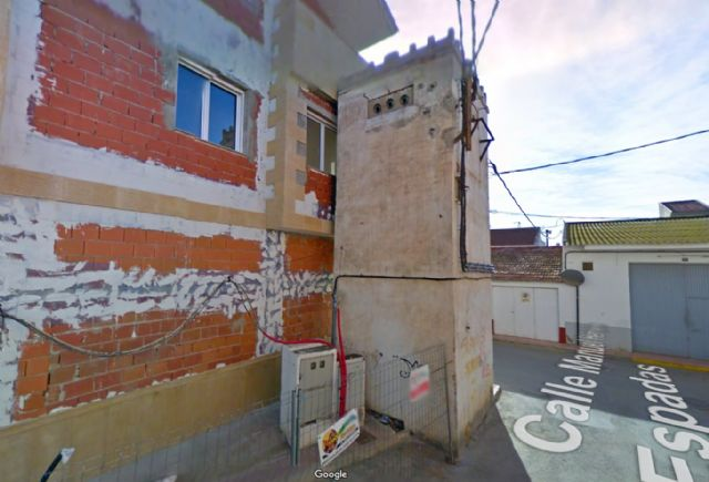 Obras de reforma del centro de transformación eléctrico en la calle Carlos III, Foto 1
