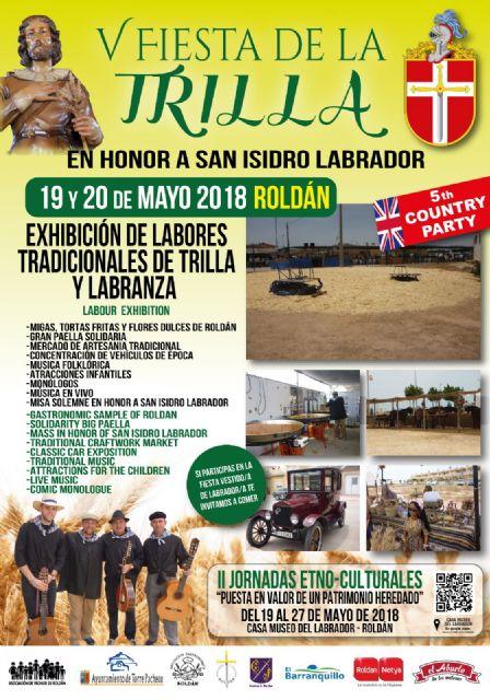 La Fiesta de la Trilla en su 5ª edición se celebrará en Roldán el sábado 19 y domingo 20 de mayo - 4, Foto 4