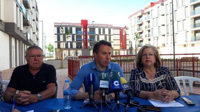 Lorca cumple VIII años desde el terremoto exigiendo al Gobierno central que respete la bonificación del 50% IBI a los damnificados - 2, Foto 2