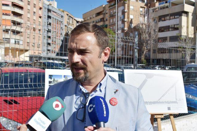 Diego José Mateos presenta el plan Lorca Aparca con el que el PSOE se marca como objetivo recuperar 2.000 plazas de aparcamiento en la ciudad - 1, Foto 1