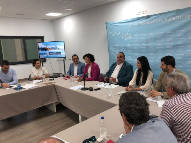 La Cámara de Comercio celebra su Pleno en el Vivero de Empresas de Puerto Lumbreras - 2, Foto 2