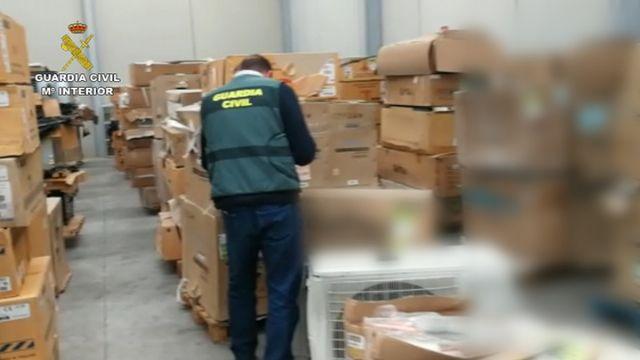 La Guardia Civil localiza en Molina de Segura los efectos sustraídos en un robo cometido en una nave industrial de Jacarilla. - 2, Foto 2