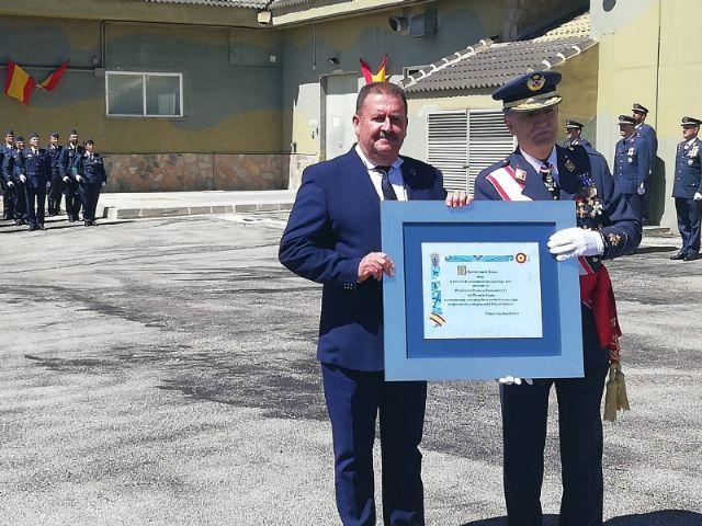 El Ayuntamiento de Totana otorga el Título de Reconocimiento del 25 Aniversario al Escuadrón de Vigilancia Aérea número 13, ubicado en el acuartelamiento del Morrón de Espuña