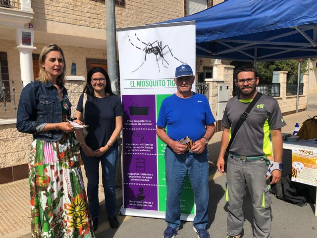 La concejalía de Sanidad relanza la campaña del Mosquito Tigre en el municipio - 1, Foto 1