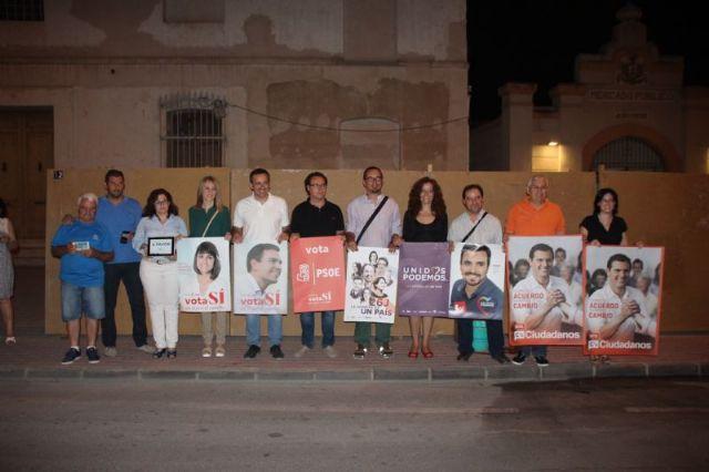 Inicio de la campaña electoral en Alhama de Murcia, Foto 1