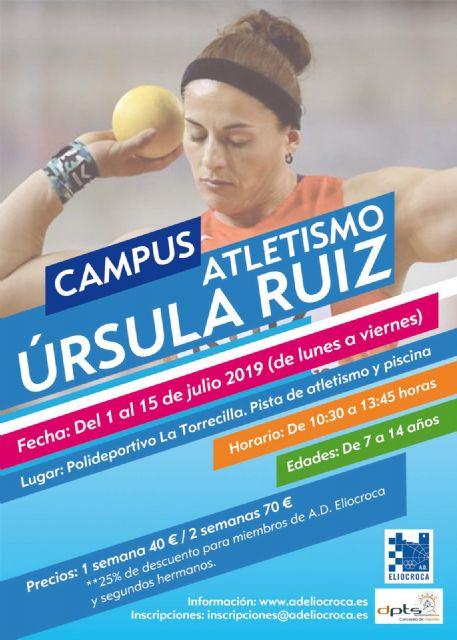 Del 1 al 15 de julio, disfruta de un verano atlético con Úrsula Ruiz en la Ciudad del Sol - 1, Foto 1