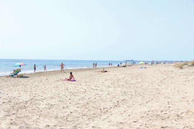 La bandera azul ondeará este verano en la playa de El Mojón, el Puerto Deportivo Marina de las Salinas y el Centro de Visitantes Las Salinas - 1, Foto 1