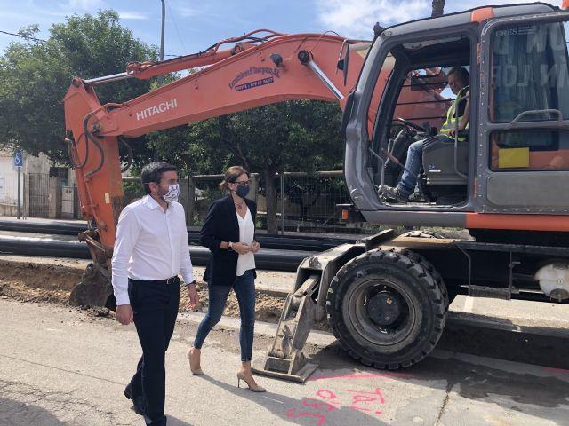 La Comunidad destina 675.000 euros al proyecto de conducción general del Valle de Ricote a su paso por Archena - 1, Foto 1