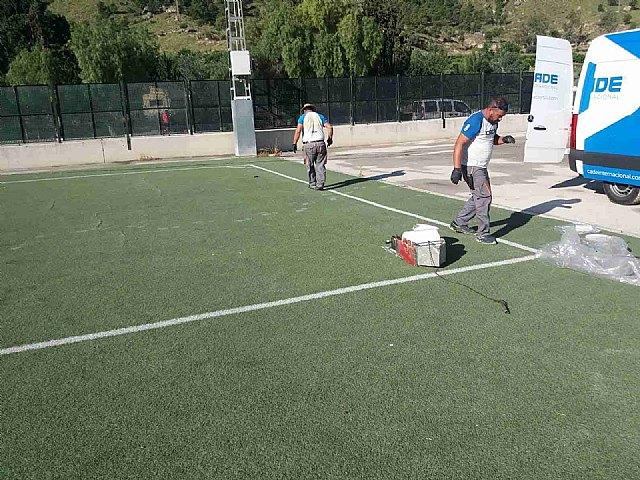 Comienzan los trabajos de reparación en el campo de fútbol de la era - 1, Foto 1