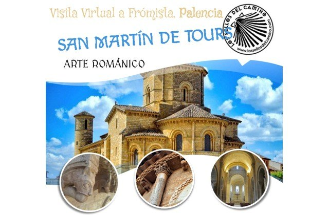 Students from the IES Reina Sofía de Totana will take a virtual excursion to the church of San Martín de Tours in Frómista (Palencia)